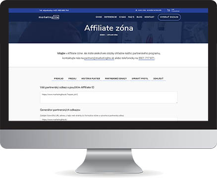 Affiliate program Marketing Lite