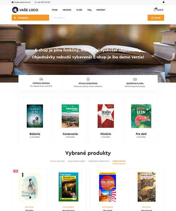 E-shop s knihami