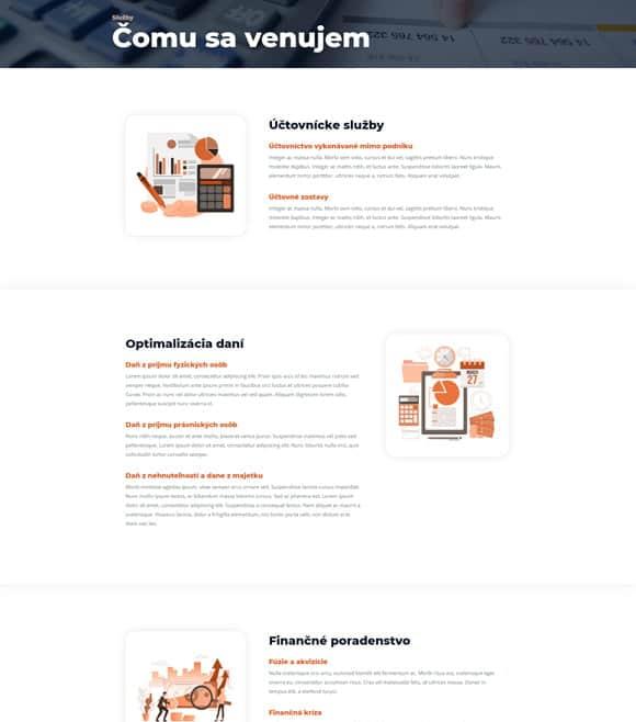 Tvorba web stránok - Marketing Lite