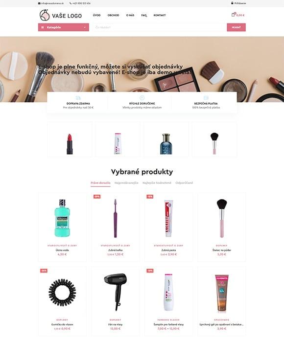 E-shop s kozmetikou [LITE] 1