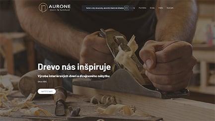Tvorba web stránok - aurone referencia