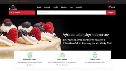 Tvorba web stránok - dolcetto referencia