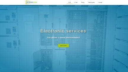 Elektrické inštalácie - Marketing Lite