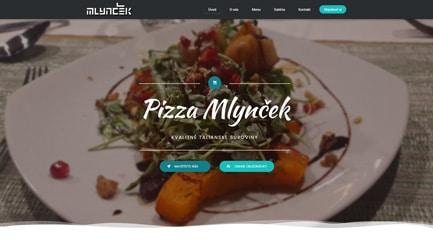 Pizzéria - Marketing Lite