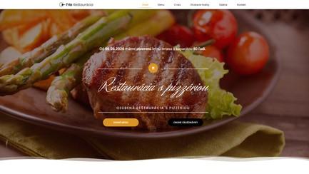 Reštaurácia - Marketing Lite