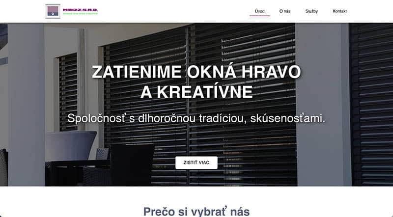 Tvorba webstránok - Marketing Lite